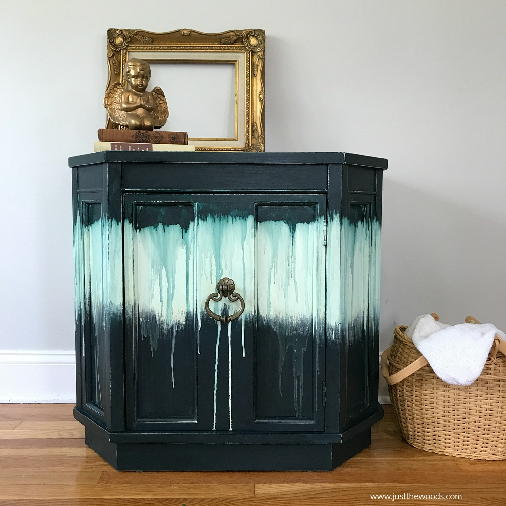 green-painted-cabinet