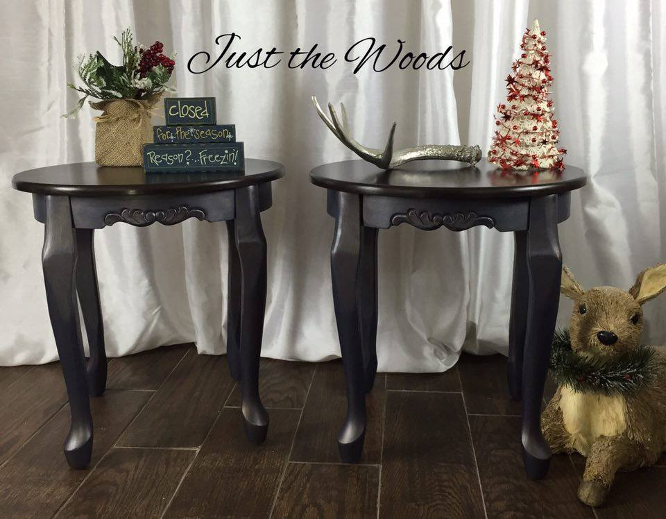 Holiday Giveaway tables