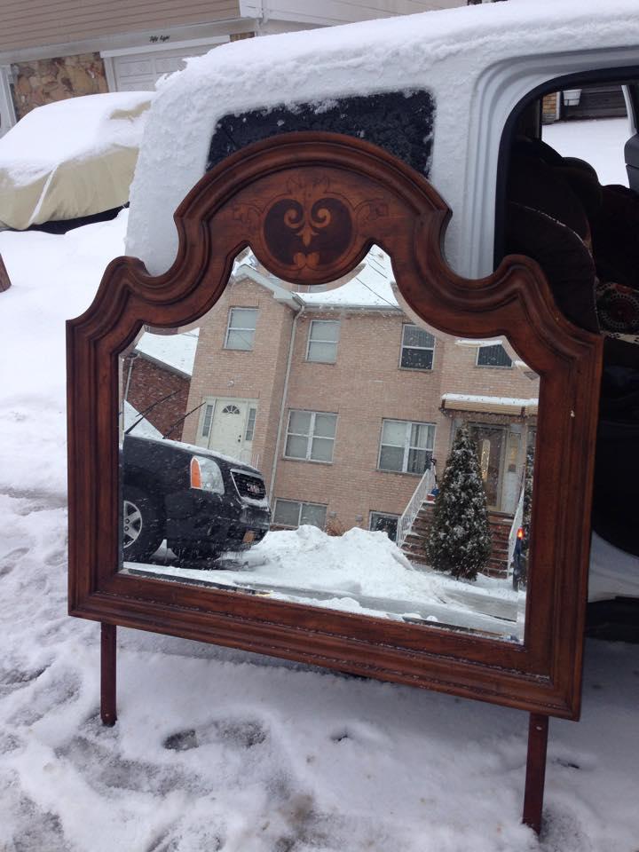 pulaski mirror AS IS