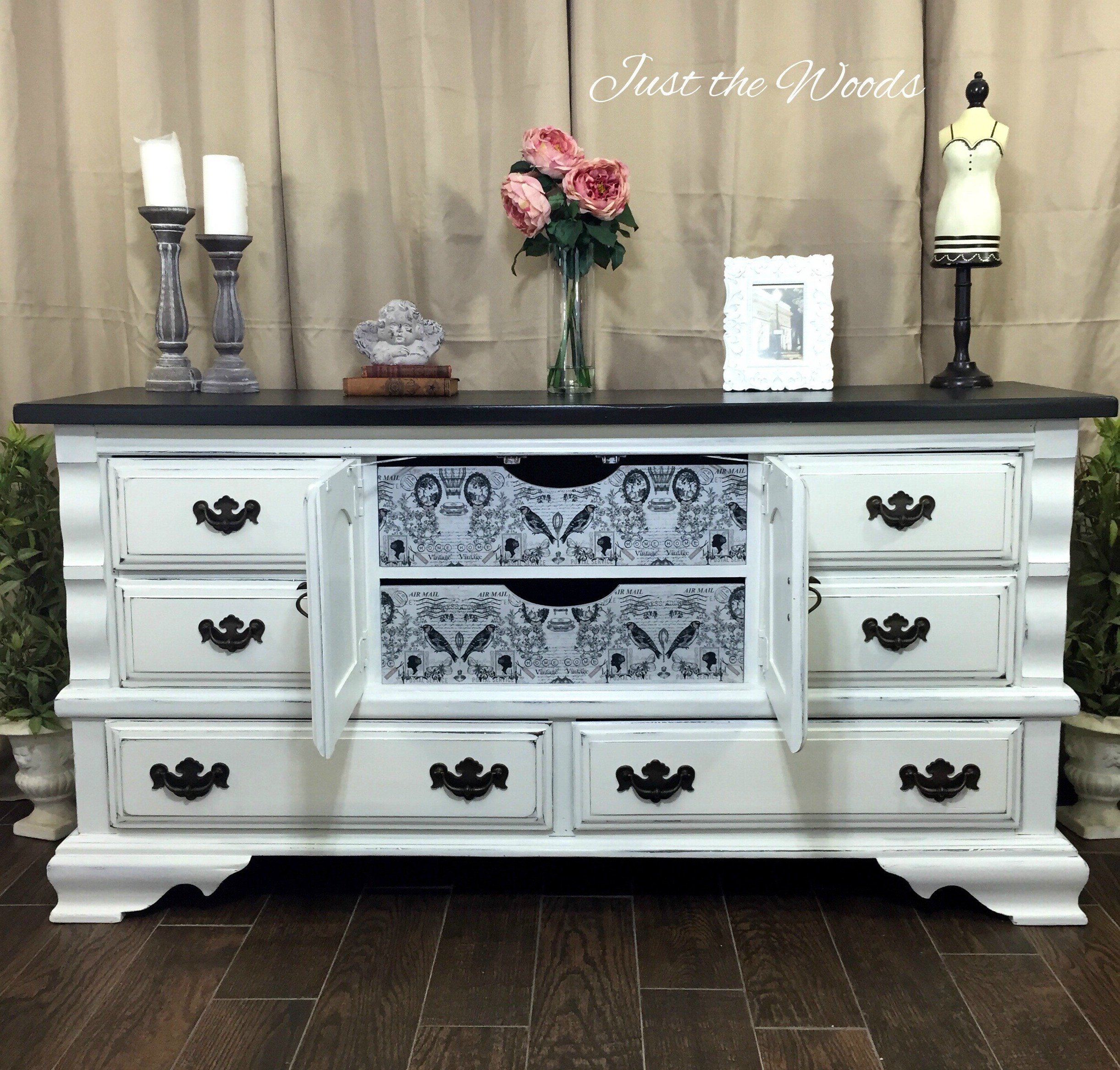 Vintage Dresser with Surprise Drawers