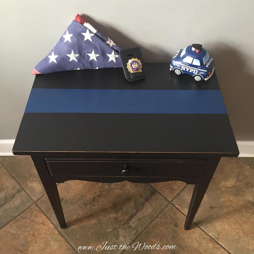 Thin Blue Line table