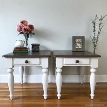 farmhouse-painted-tables-with-wood-stain
