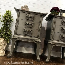 Vintage Painted Nightstands