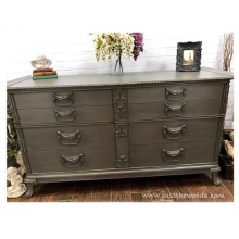 Vintage Painted & Glazed Dresser