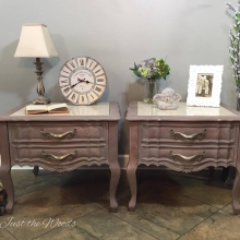Romantic Marble Top Tables