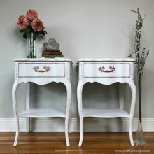 whtie-painted-tables-with-rose-gold-hardware
