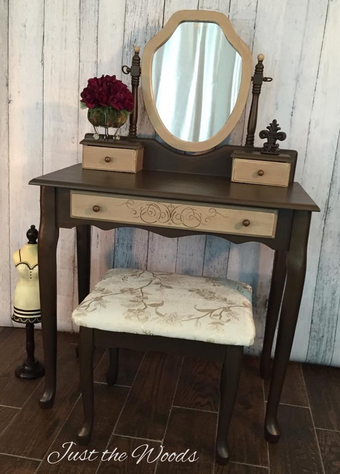 bronze vanity $225