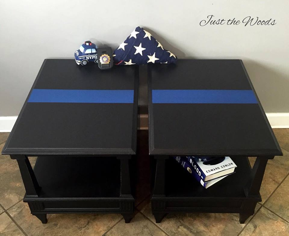 Thin Blue Line Tables