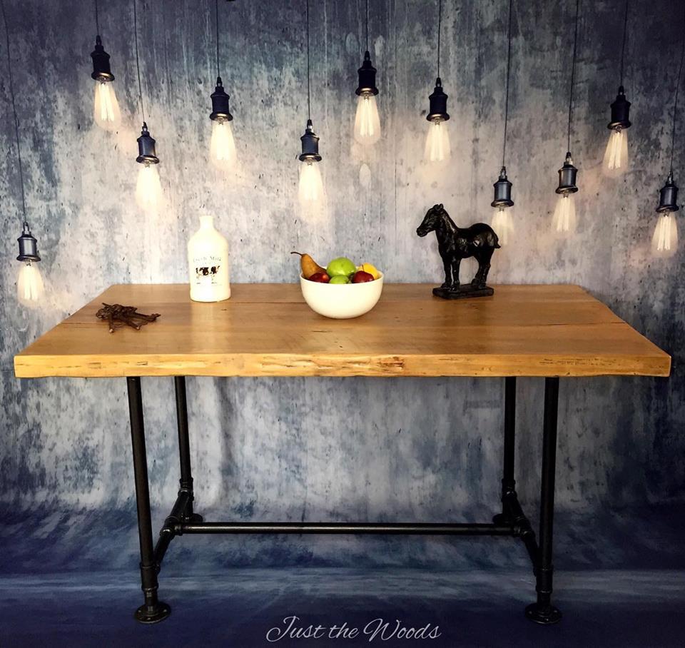 Hand Made Farm Table 100% Reclaimed Barn Wood