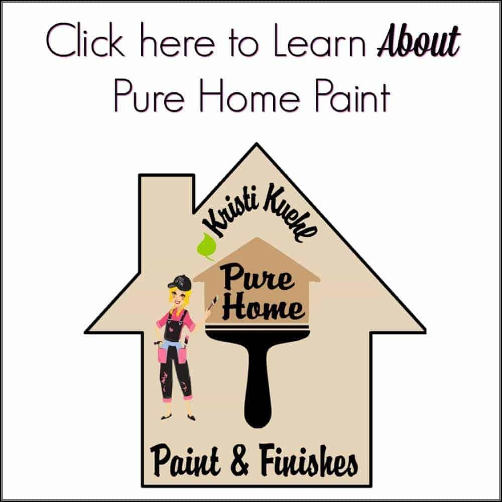 chalk paint, non toxic paint, pure home paint, kristi kuehl