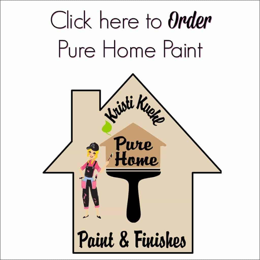 pure home paint, krisit kuehl, chalk paint, non toxic paint, diy paint
