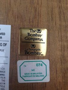 the bombay company