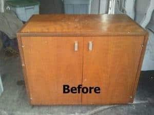 vintage cabinet, navy pride, masculine furniture, painted furniture