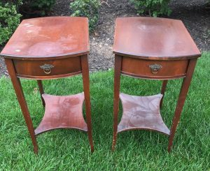 Mahogany, vintage table, antique tables, unfinished tables, staten island, imperial