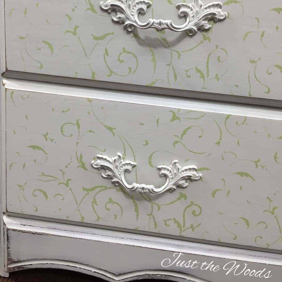 Cottage Chic Painted Dresser