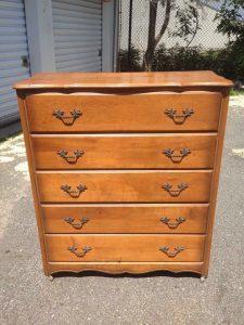 cottage chic dresser, painted dresser, stenciled dresser, staten island