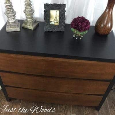 Just the Woods- Handsome Devil Wood Grain Dresser