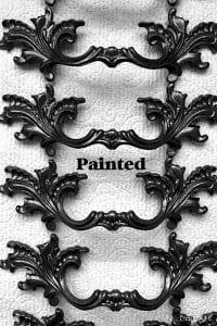 paint vintage hardware