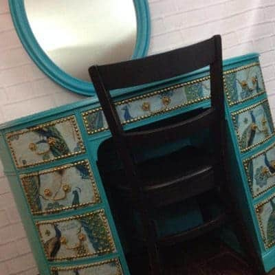 Just the Woods, LLC – Painted furniture, Peacocks & Patience