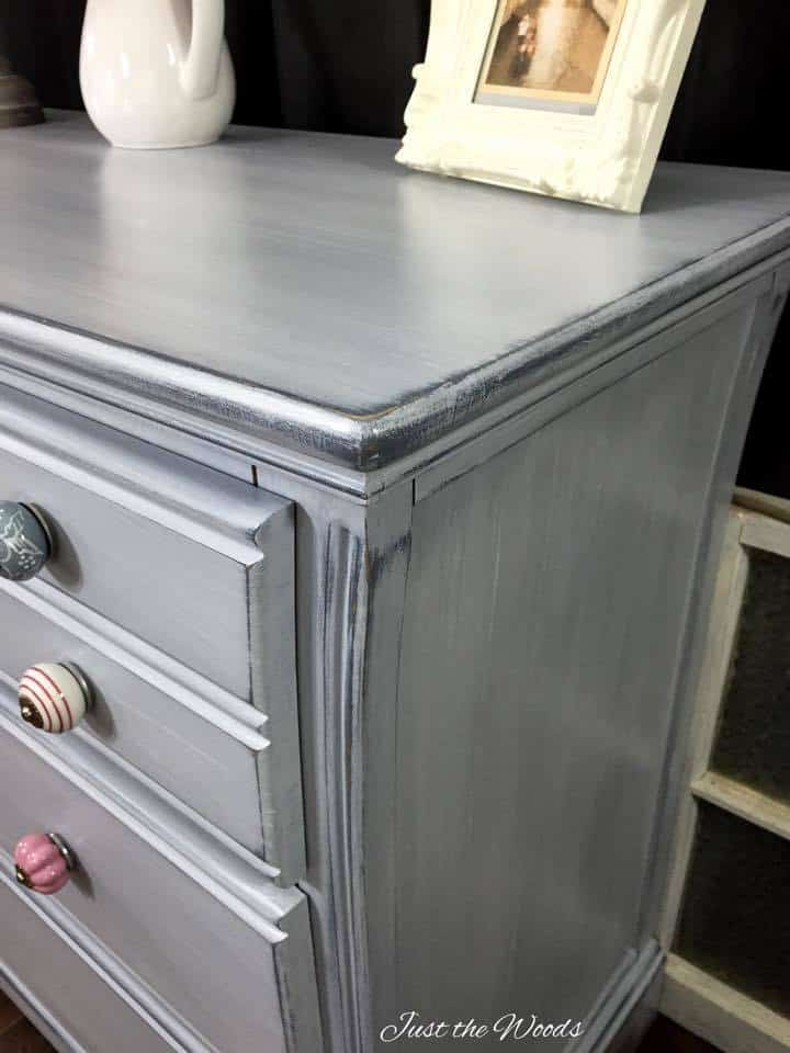 shabby chic, shades og gray, gray chalk paint, pure home paint, just the woods, new york
