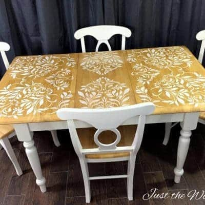 Damask Dining Set by Just the Woods