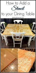 how-to-stencil, staten island, new york, painted furniture