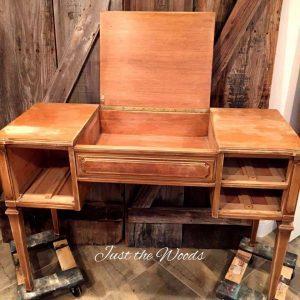 vintage vanity desk, vintage vanity, staten island, vanity table, vanity mirror