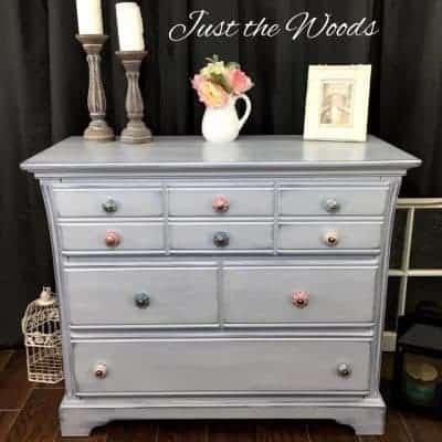 Shabby Shades of Gray Dresser