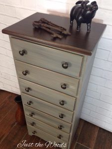 painted lingerie chest, restoration hardware painted finish, staten island