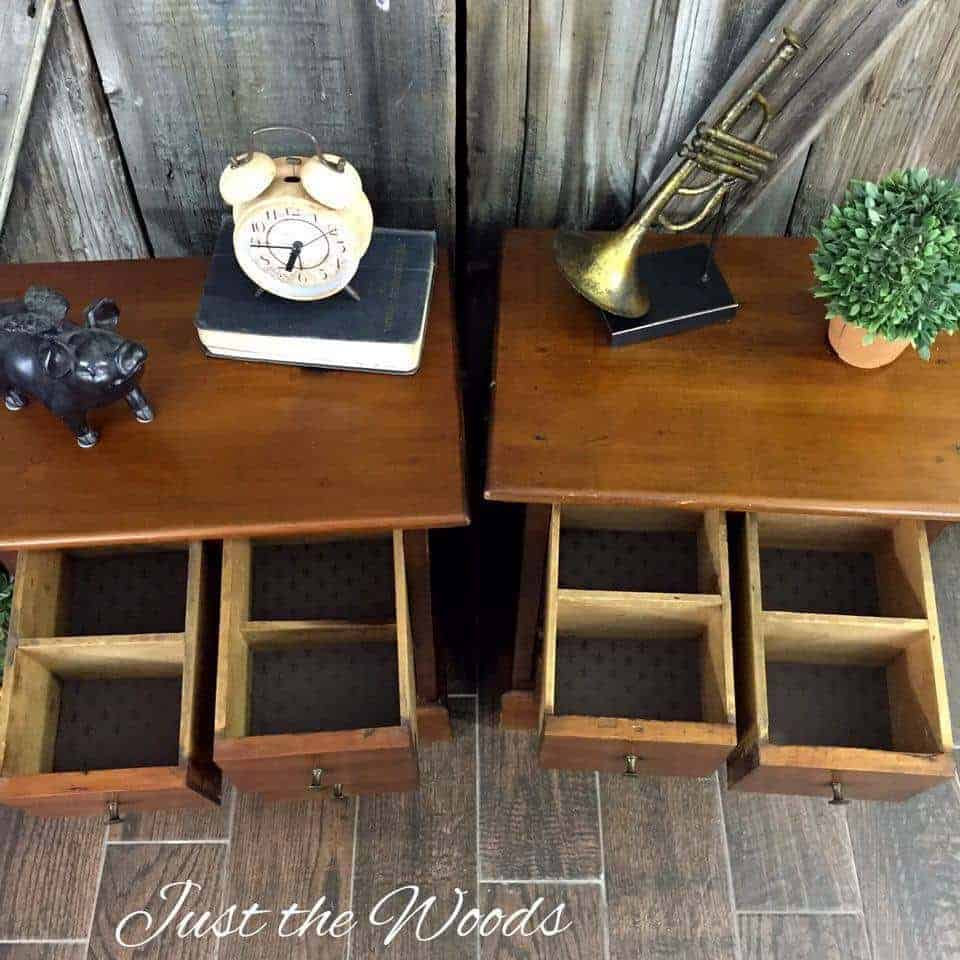 Restored Vintage Handmade Tables by Just the Woods