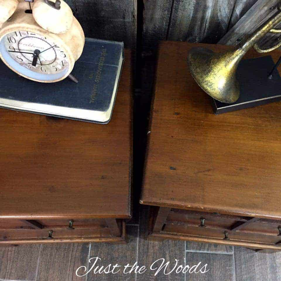 Restored apothecary tables