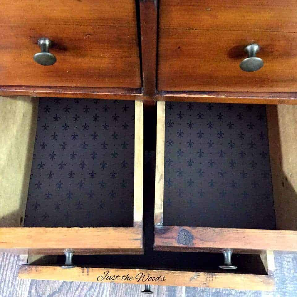 Vintage handmade apothecary tables