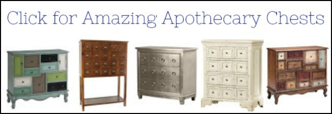 apothecary tables for sale, apothecary chests for sale, apothecary cabinets for sale, apothecary dresser