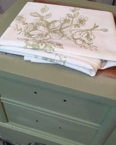 painted, furniture, lane, cedar, chest, just the woods, staten island, nyc, nj, vintage, minted