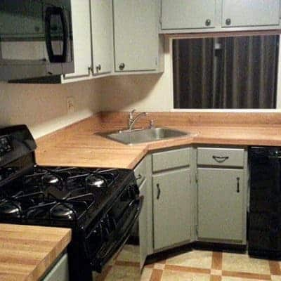 Custom Painted Kitchen Cabinets