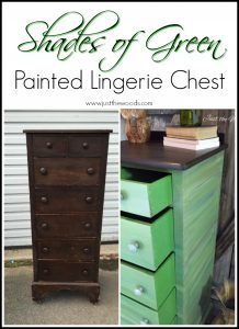 green-painted-lingerie-chest, staten island, painted furniture
