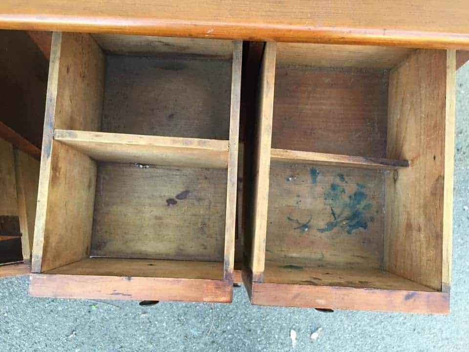 antique apothecary tables