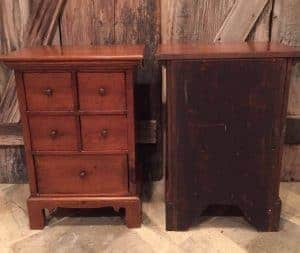 vintage hand made tables, vintage furniture, hand made, painted furniture, staten island, nyc, nj, just the woods, dovetail