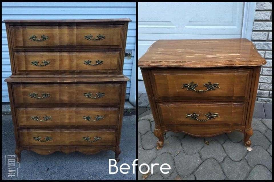 french provincial, vintage, painted furniture, just the woods, staten island, nyc