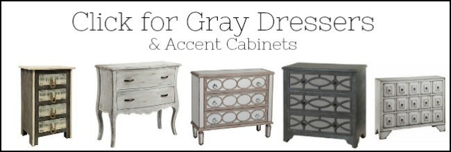 gray dressers for sale, gray furniture