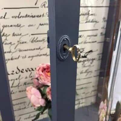 Grandma's Vintage Curio Cabinet Makeover