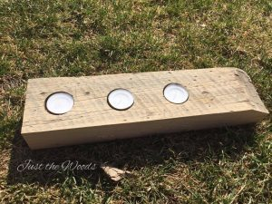 Tea Light Candle Holder by Just the Woods, how to make a tea light candle holder, how to make a candle holder