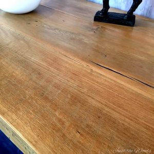 saw marks, original milling, barn wood, table, farm table,