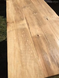 Hand Made, Reclaimed Barn Wood Farm Table, Just The Woods, Barn Wood,
