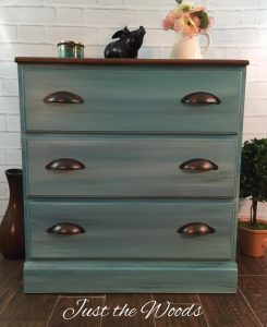 Coastal Painted Dresser