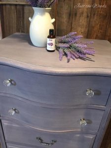 How to Age Paper - Lavender Label by Just the Woods