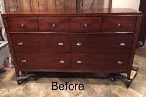 unfinished dresser, painted dresser, modern dresser, staten island, furniture