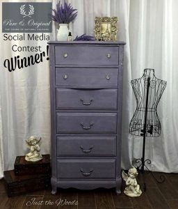 Lovely Lavender Lingerie Chest Social Media Winner