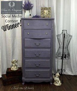 Lovely Lavender Lingerie Chest Social Media Winner
