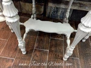 antique table legs, wood table, parlor table, shabby chic, distressed, chalk paint, nj